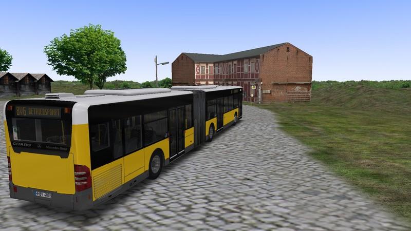 Omsi 2 – O530 G Fakelift BVG Repaint – Omsi Bus Simulator Mods