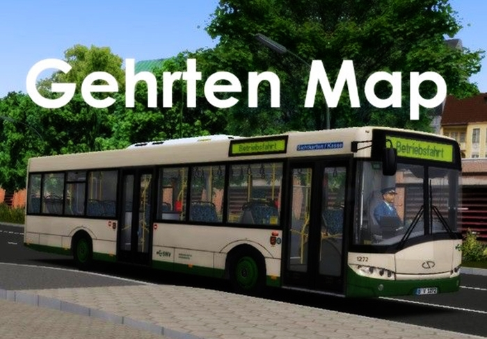 Omsi 2 – Gehrten V1 0 Map – Omsi Bus Simulator Mods