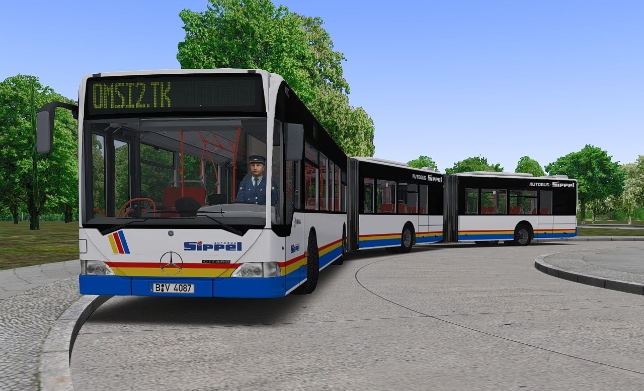 Omsi2 – Mercedes benz Citaro G (3 and 4-section) – Omsi Bus