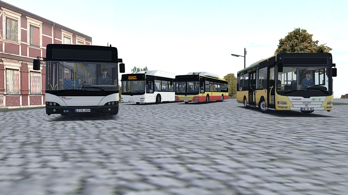 OMSI The Bus Simulator Pack bus